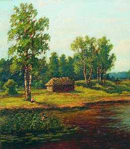 Efim Efimovich Volkov - House by the Forest's Edge