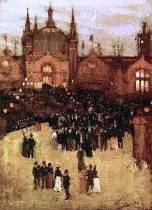 John Lavery - The Glasgow International Exhibition