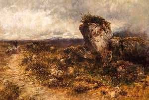 George Paul Chalmers - The Eagle's Nest, Skye