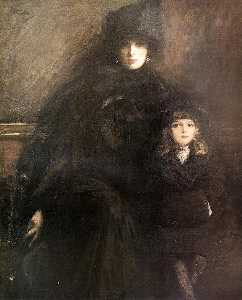 John Lavery - Mrs Lavery and Alice