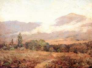 Frank Coburn - Early Morning, Bear Mountain, Valley of the Sespe