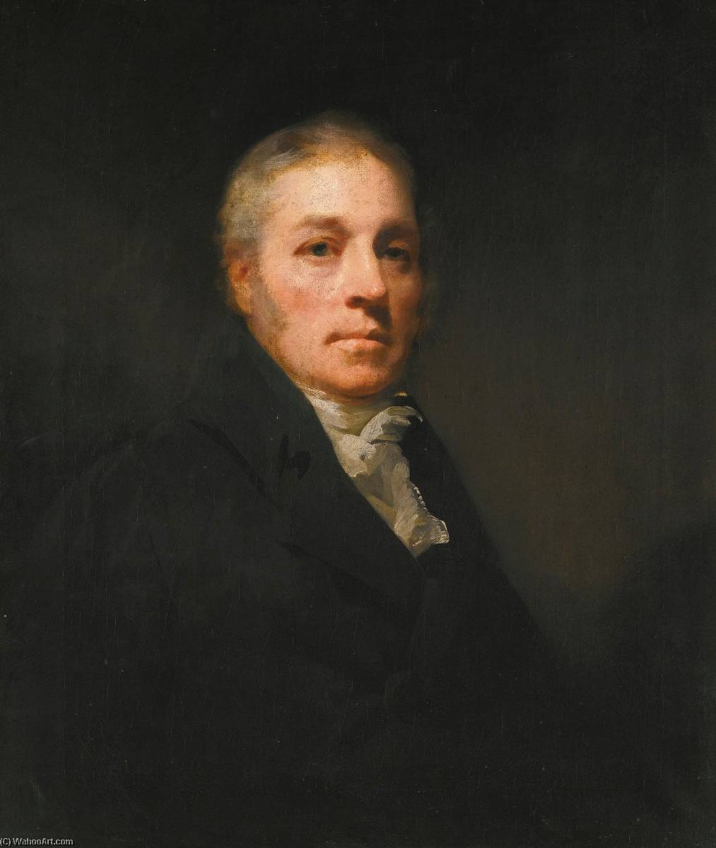 Portrait of Maurice Carmichael of Eastend, Lanarkshire by Henry Raeburn (1756-1823, United Kingdom) | Museum Quality Reproductions | WahooArt.com