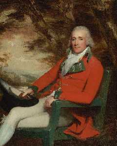 Henry Raeburn - Thomas Carmichael, 5th Earl of Hyndford (circa 1750 1811)
