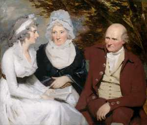 Henry Raeburn - John and Betty Johnstone and Miss Wedderburn