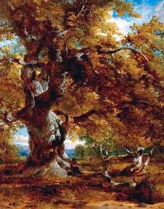 Henry Thomas Dawson - The Major Oak