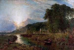 Henry Thomas Dawson - The King's Mill, Castle Donington, Leicestershire