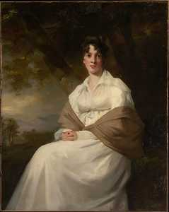 Henry Raeburn - Lady Maitland (Catherine Connor, died 1865)