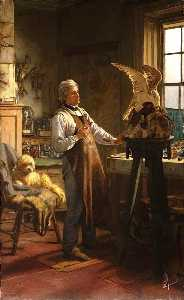 Henry Hetherington Emmerson - John Hancock, in His Studio