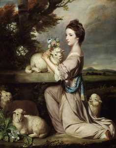 Joshua Reynolds - Lady Mary Leslie
