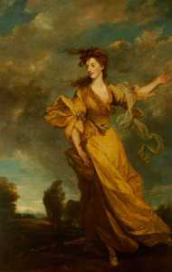 Joshua Reynolds - Lady Jane Tollemache, Lady John Halliday