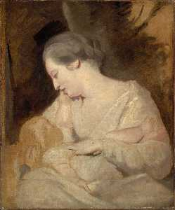 Joshua Reynolds - Mrs Richard Hoare Holding Her Child
