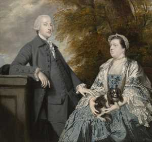 Joshua Reynolds - Mr and Mrs Godfrey Wentworth