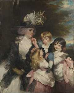 Joshua Reynolds - Lady Smith (Charlotte Delaval) and Her Children (George, Henry, Louisa and Charlotte)