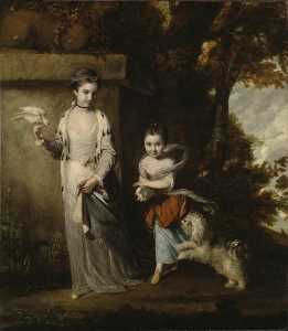 Joshua Reynolds - The Ladies Amabel and Mary Jemima Yorke