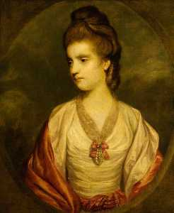 Joshua Reynolds - Elizabeth Kerr (1745 1780) Countess of Ancram, Later Marchioness of Lothian