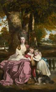 Joshua Reynolds - Lady Elizabeth Delmé and Her Children