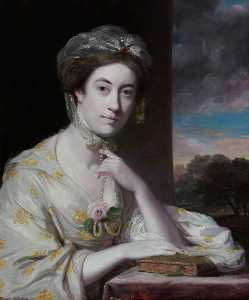 Joshua Reynolds - Mrs John Hope