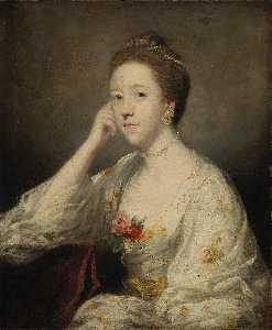 Joshua Reynolds - Portrait of a Lady in White