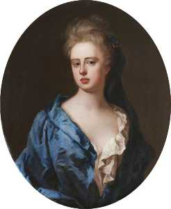 Michael Dahl - Unknown woman, formerly known as Sarah Churchill, née Jenyns, Duchess of Marlborough
