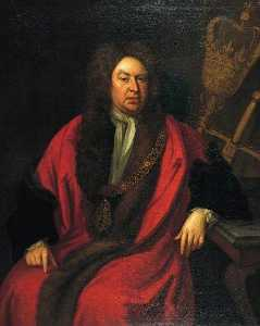 Michael Dahl - Sir Gilbert Heathcote (1652–1733), One of the Founders of the Bank of England