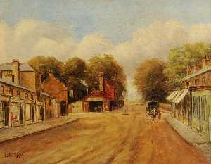Ernest A. L. Ham - High Street, Southall (looking west)