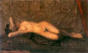 Leon Jan Wyczolkowski - Female Nude