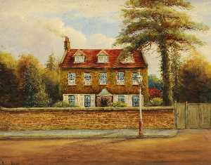 Ernest A. L. Ham - The Old Vicarage House, St John's Southall