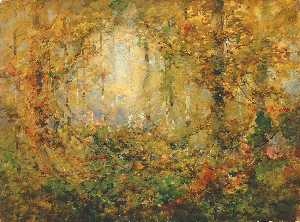 William Henry Holmes - Autumn Tangle