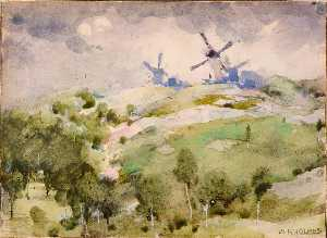 William Henry Holmes - Windmills