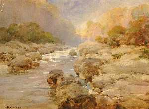 William Henry Holmes - Unmodified Rock Creek, about 1910