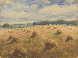 William Henry Holmes - Maryland Wheat Fields