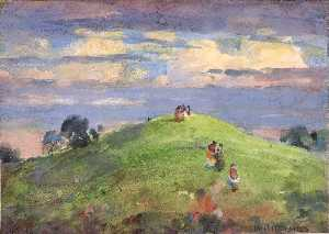 William Henry Holmes - On the Sunset Hill, 1926
