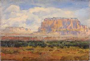 William Henry Holmes - The Enchanted Mesa