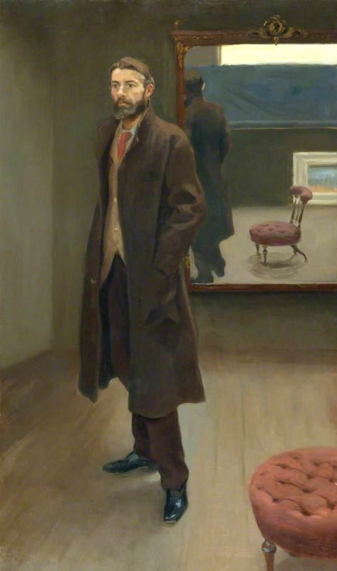 Edward Carpenter, 1894 by Roger Eliot Fry | Museum Quality Reproductions | WahooArt.com