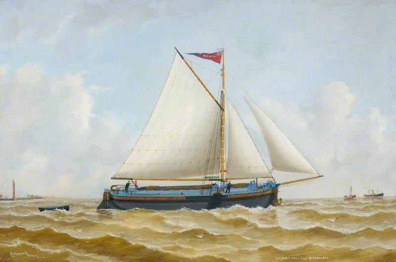 `Lilian` of Hull by Ruben Chappell | Famous Paintings Reproductions | WahooArt.com