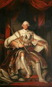 Samuel Lane - King George III (1738–1820) (after Joshua Reynolds)