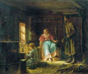 Vasily Maximov - The Little Mechanic