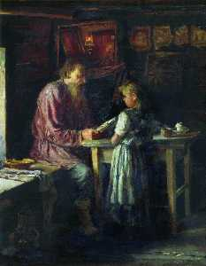 Vasily Maximov - Her Only Teacher