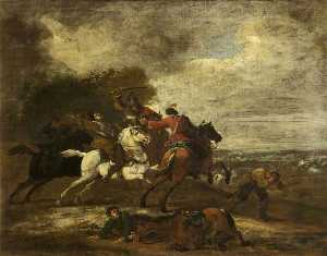 Benjamin Barker Ii - Travellers Attacked by Robbers