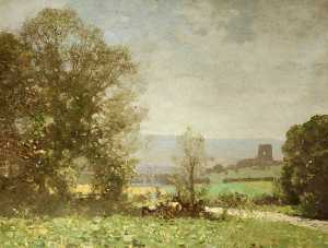George Houston - Landscape – Dundonald Castle