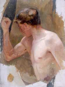 William Henry Charlton - Male Nude