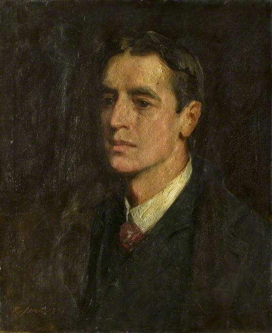 Colin McAlpin (1870–1942), Oil On Canvas by Richard Jack (1866-1952, United Kingdom)