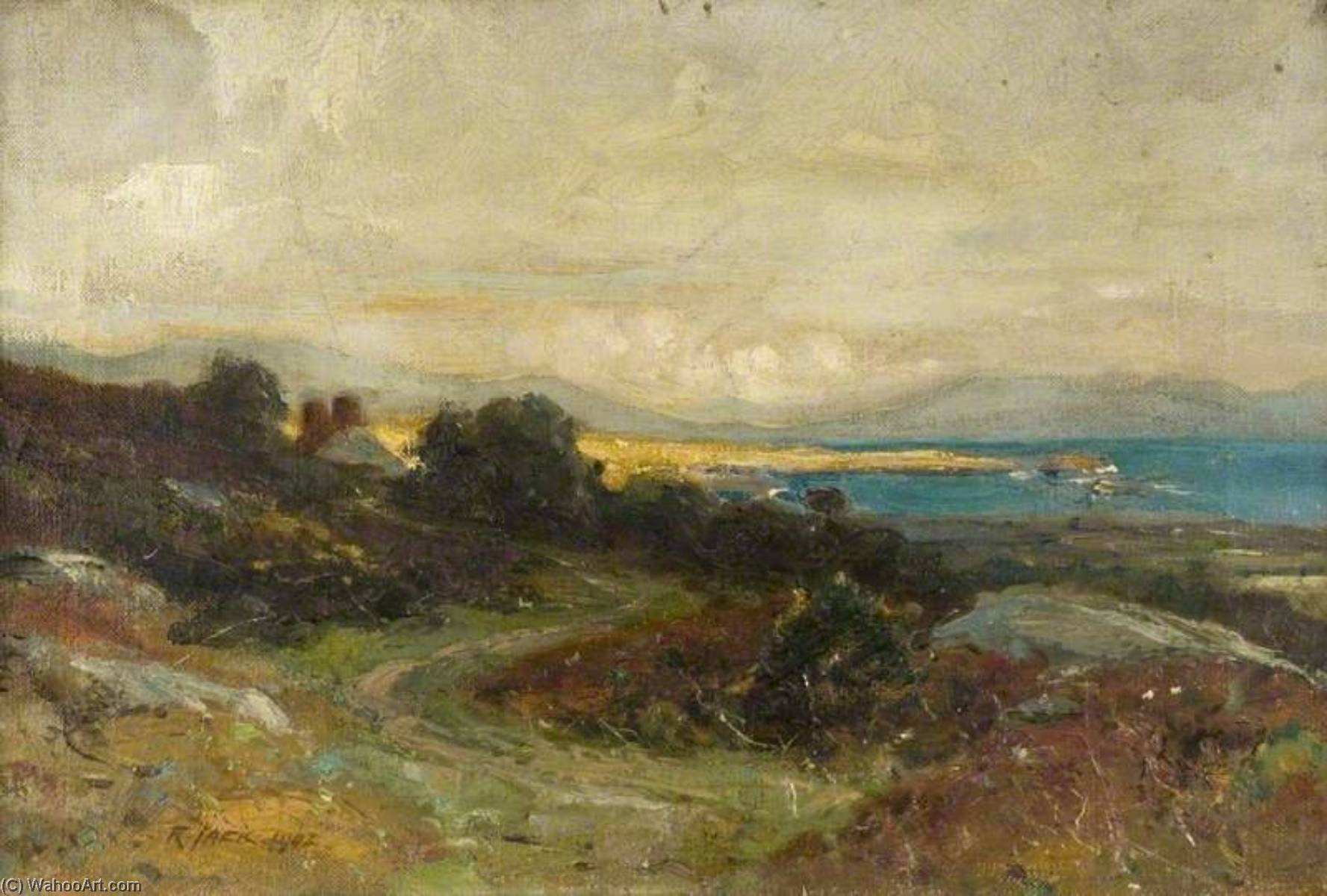 Irish Landscape by Richard Jack (1866-1952, United Kingdom) | Famous Paintings Reproductions | WahooArt.com