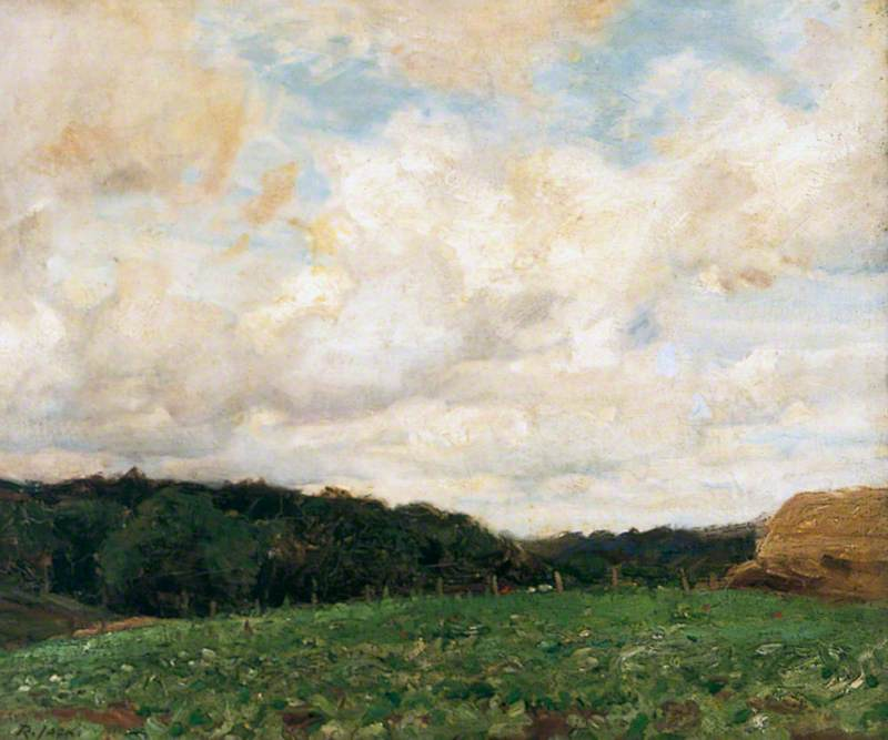 Landscape by Richard Jack (1866-1952, United Kingdom) | Famous Paintings Reproductions | WahooArt.com