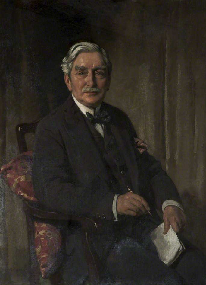 Jonathan Simpson (1850–1937) by Richard Jack (1866-1952, United Kingdom) | Museum Quality Reproductions | WahooArt.com