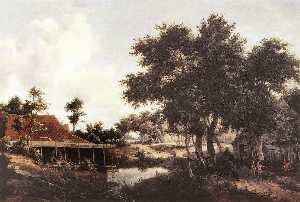 Meyndert Hobbema - The Water Mill