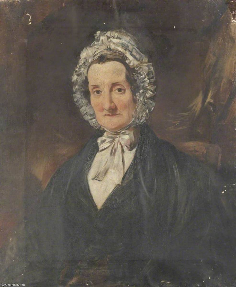 Portrait of a Woman, 1850 by George Sheffield Senior | Art Reproduction | WahooArt.com