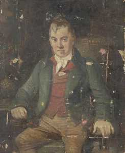 George Sheffield Senior - Sketch for a Portrait of Mr Pennyfeather