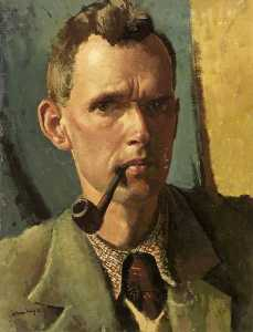 William D Dring - Self Portrait