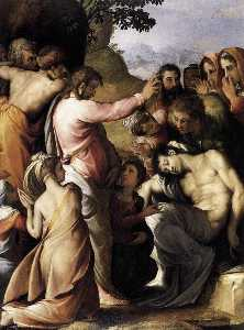Francesco De' Rossi - English Raising of Lazarus